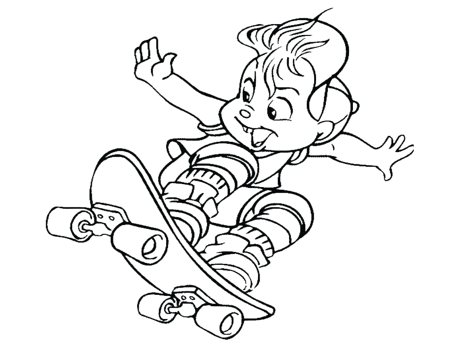 make a picture into a coloring page for free