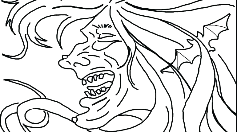 make photo into coloring page