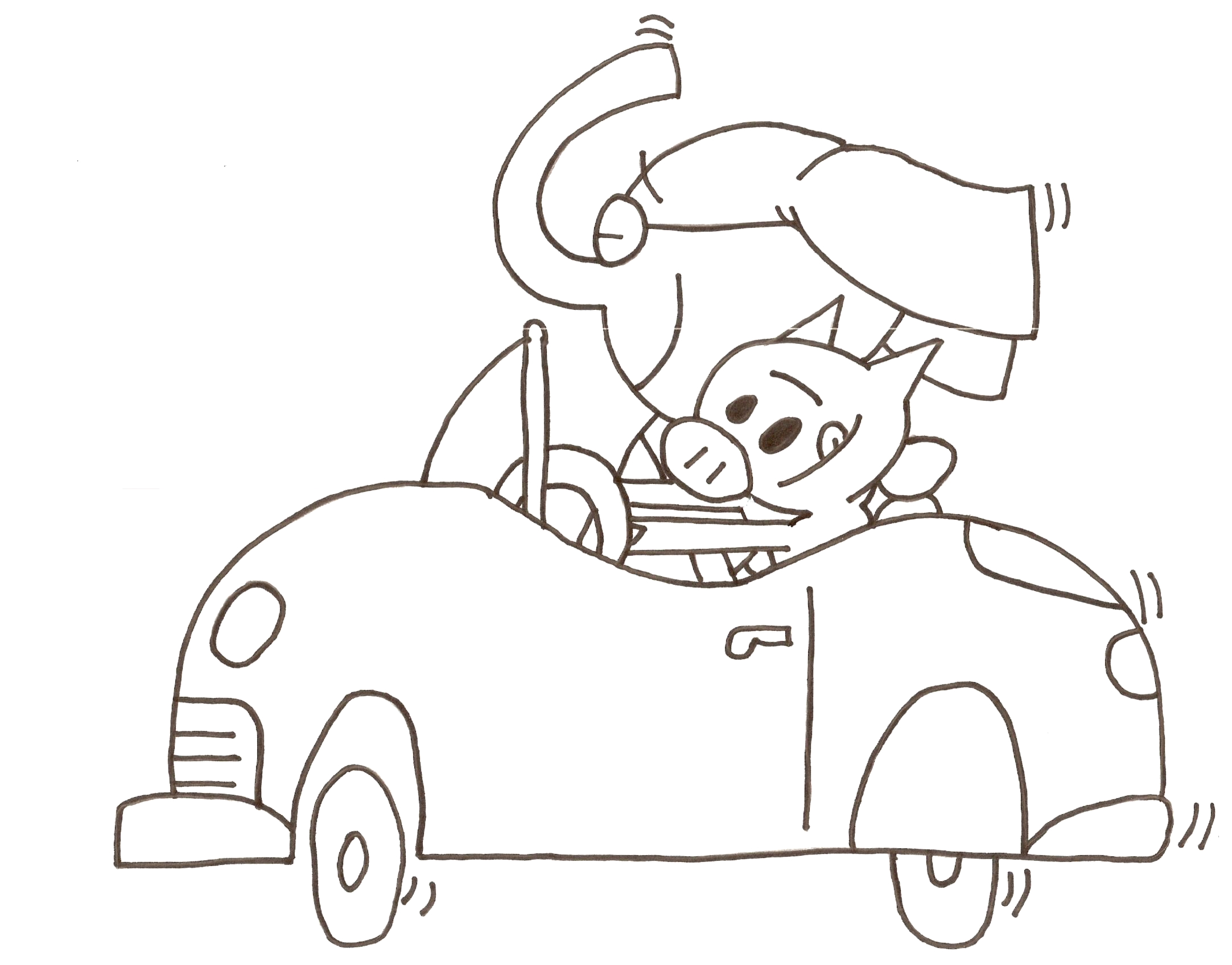 Mo Willems Elephant and Piggie Coloring Pages Coloring Page Az Coloring Pages