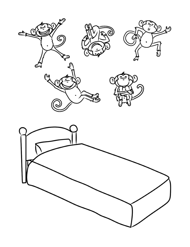 printable pictures of monkeys