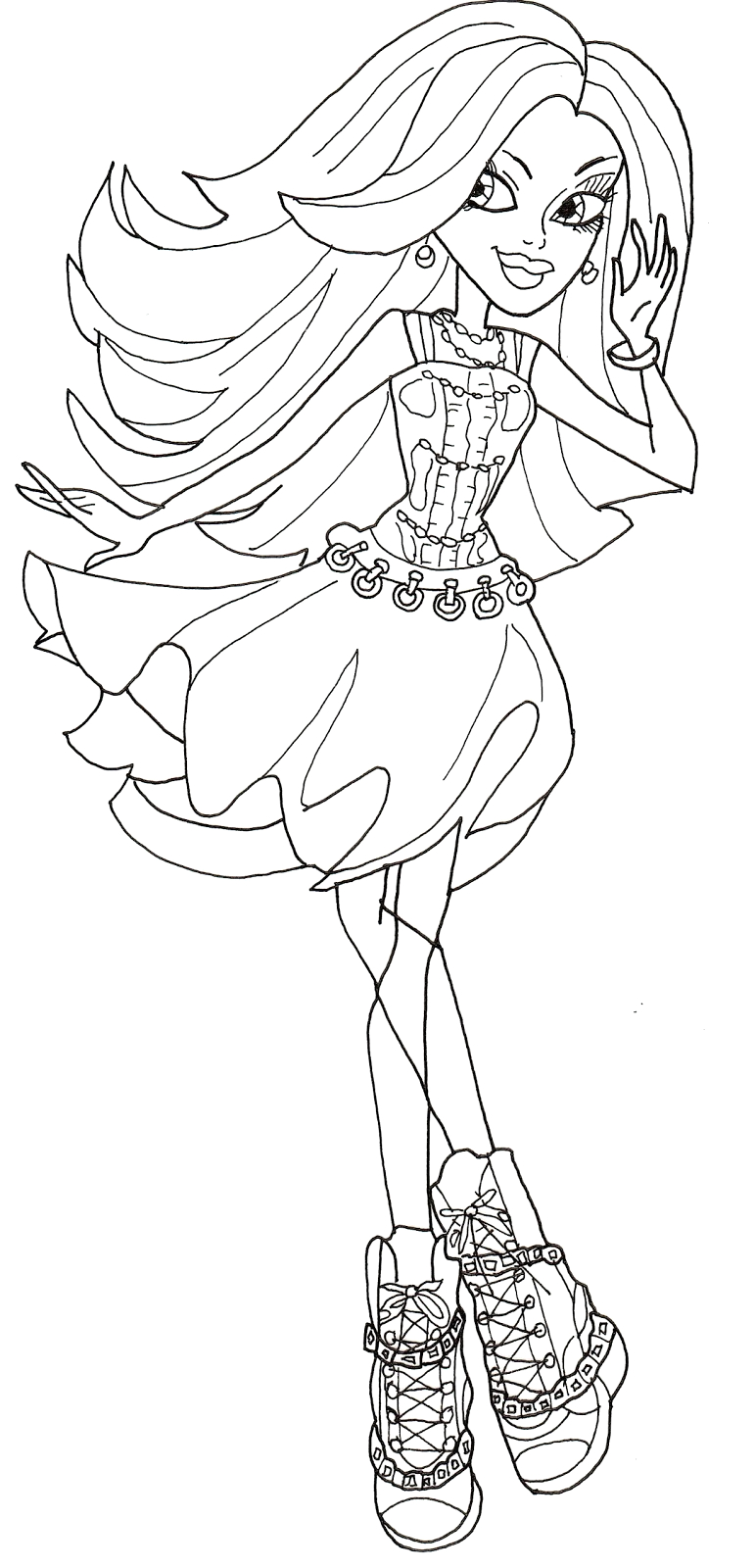 spectra coloring page