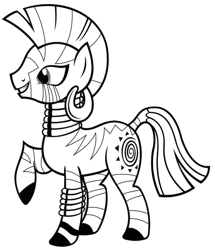 free preschool my little pony friendship is magic coloring pages to print