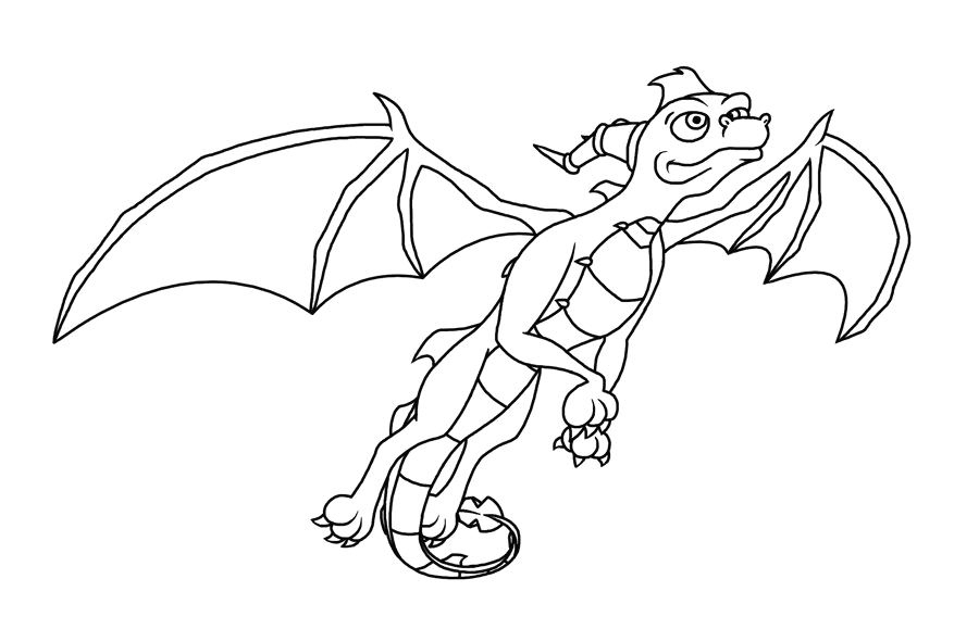 Spyro Dawn Of the Dragon Coloring Pages Spyro the Dragon Coloring Pages at Getdrawings