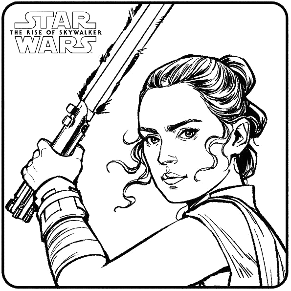 Star Wars the Rise Of Skywalker Coloring Pages Kids N Fun