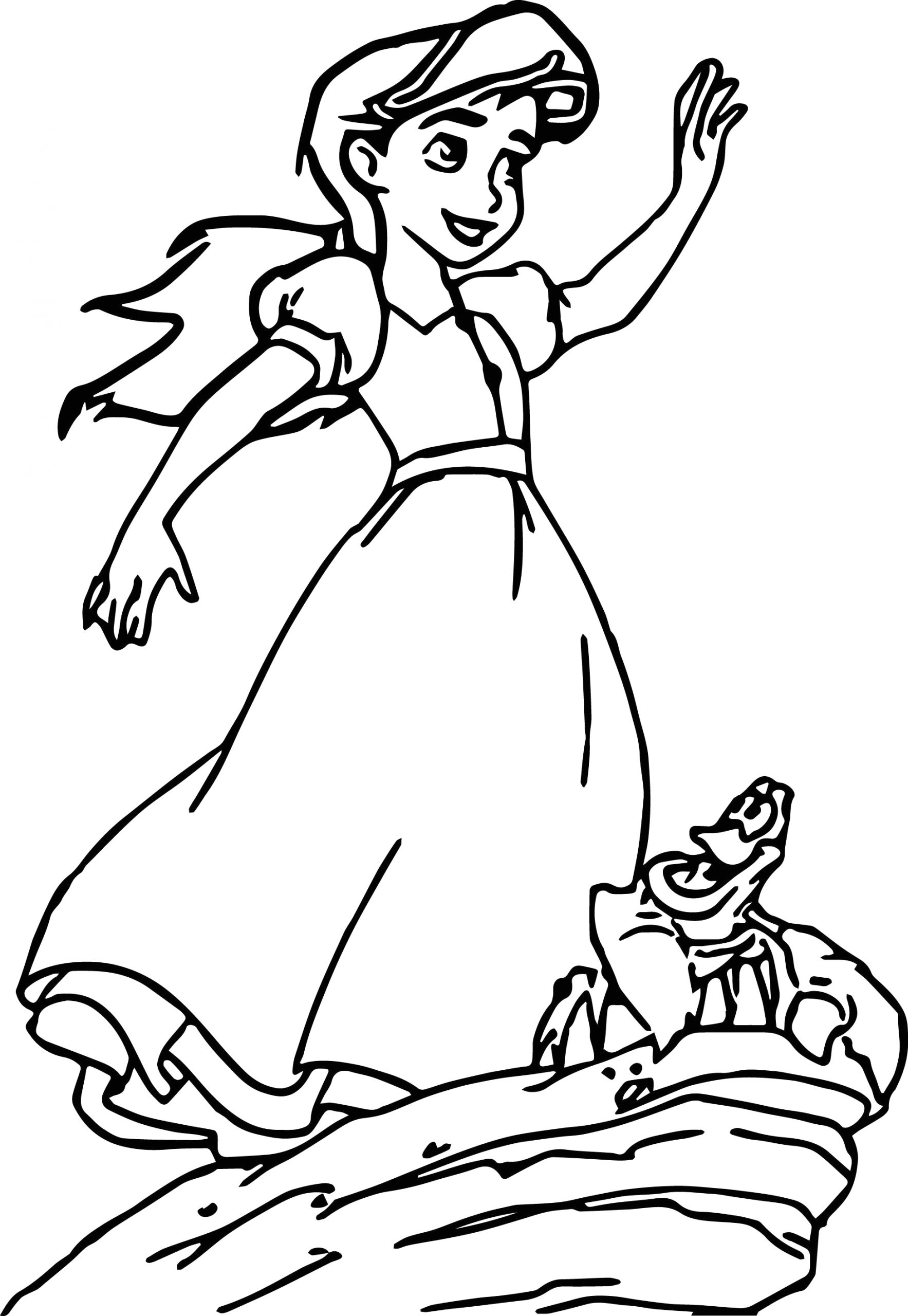 The Little Mermaid 2 Return to the Sea Coloring Pages Disney the Little Mermaid 2 Return to the Sea Coloring